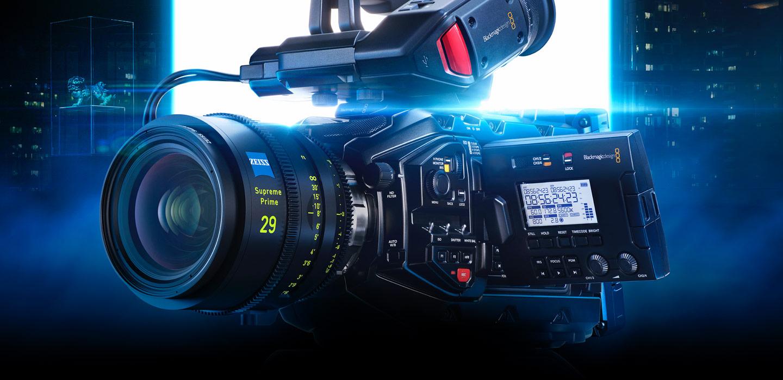 Dettagli delle funzioni della video camera Ursa mini pro 4.6K
