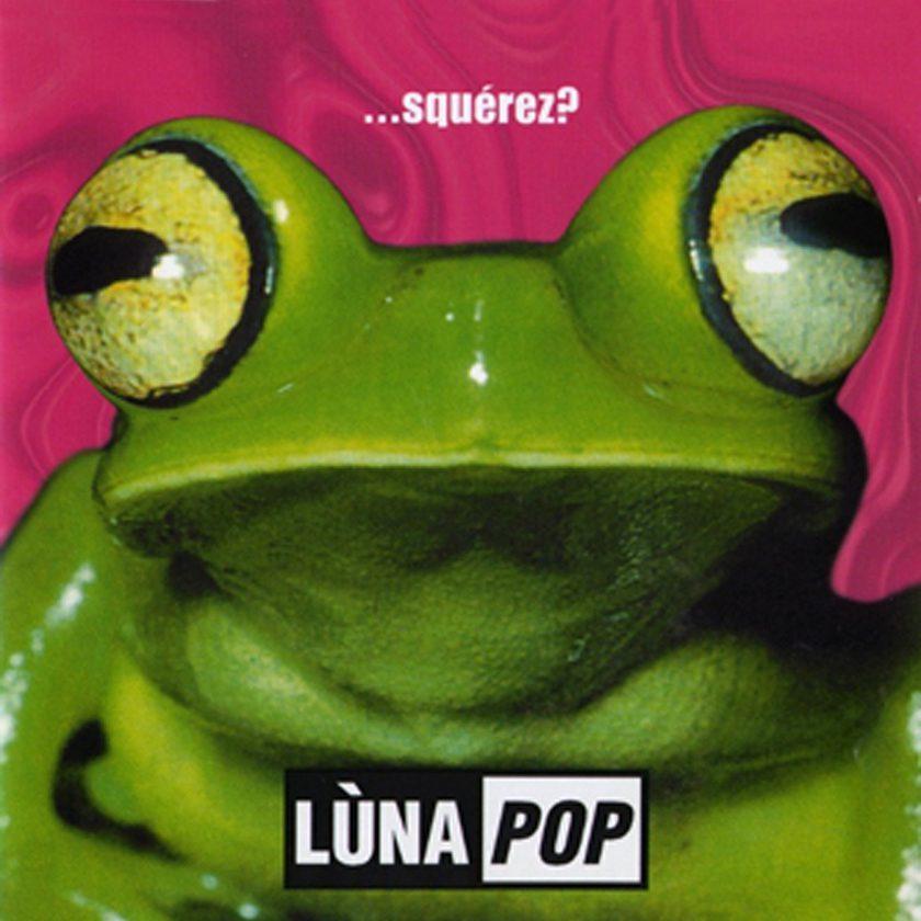 Copertina della produzione discografica con Lunapop