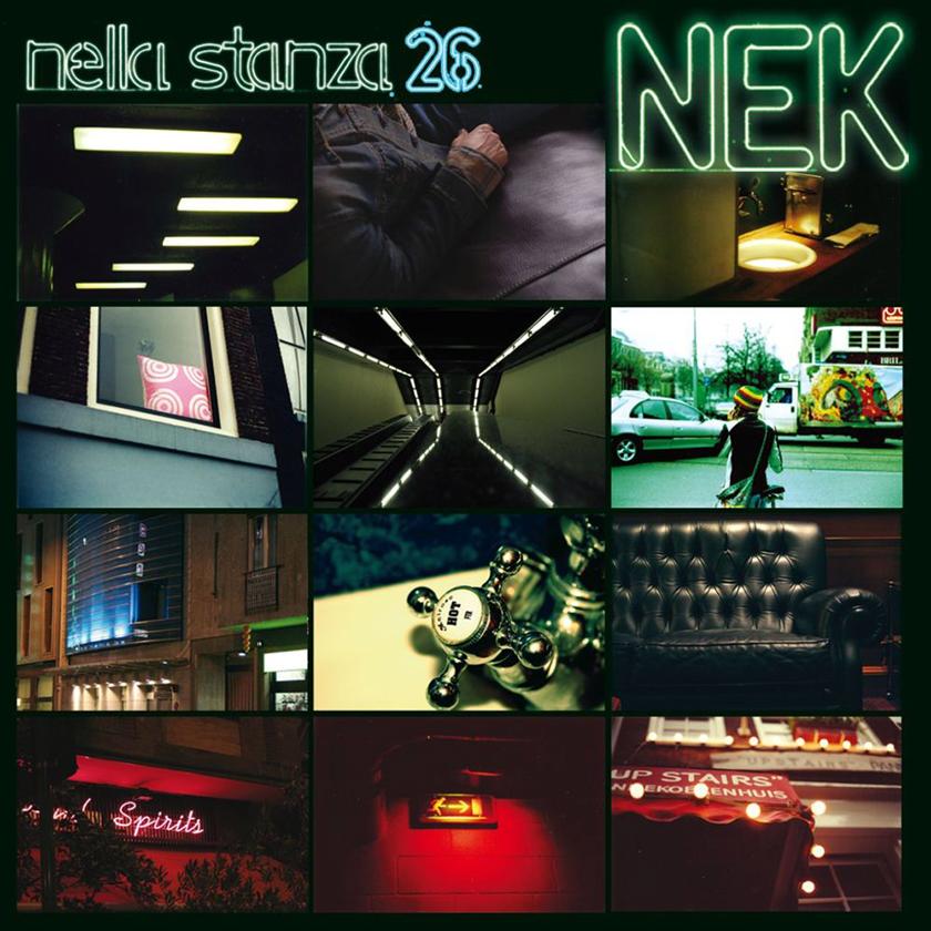 Copertina della produzione discografica con Nek