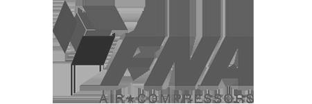 Marchio compressori FNA Compressor con sede a Robassomero - Torino.