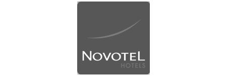 Logo della catena di Hotel Novotel