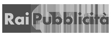 Logo Rai pubblicità con sede a Torino